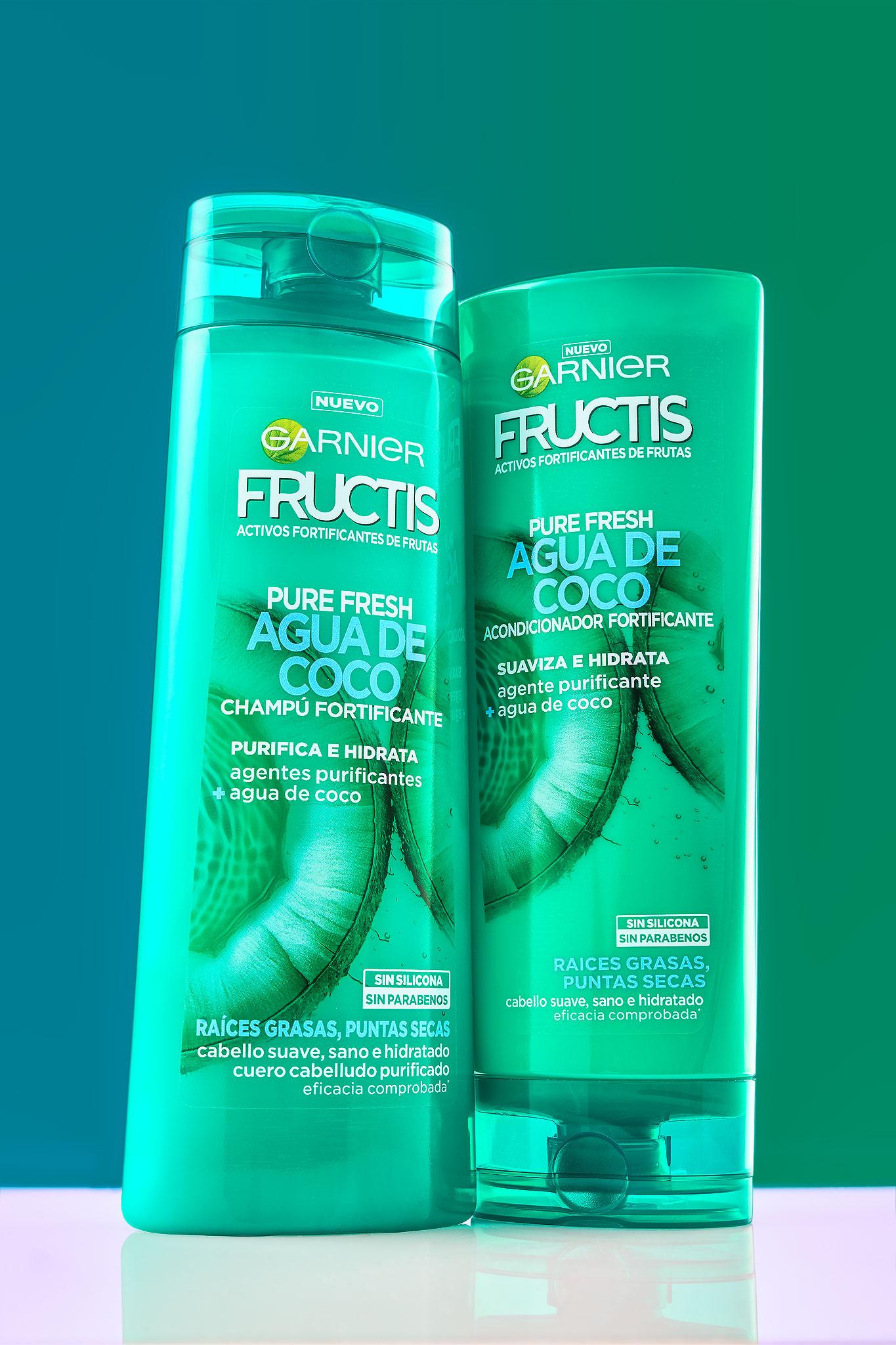 Garnier Fructis - Agua de coco