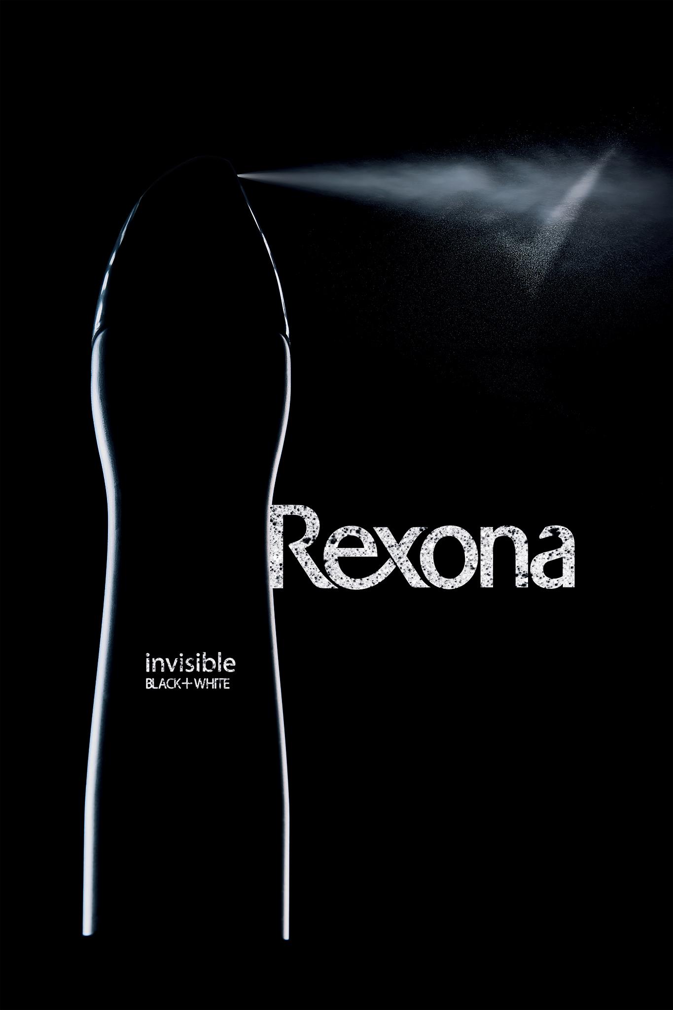 Rexona invisible - Black + White