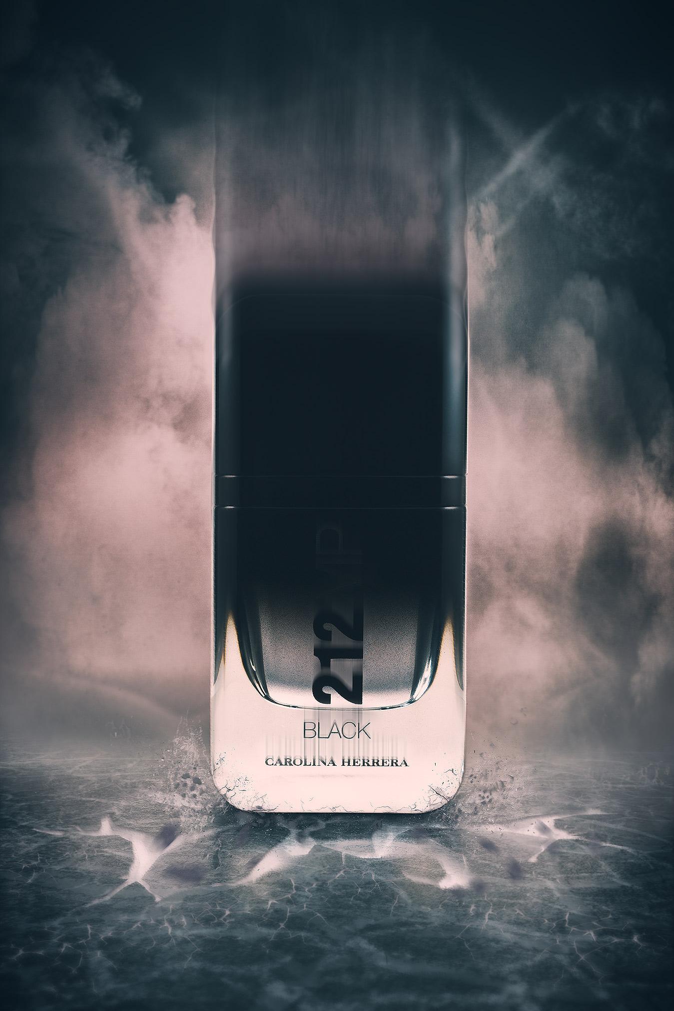 Carolina Herrera 212 Vip Black | Publicidad